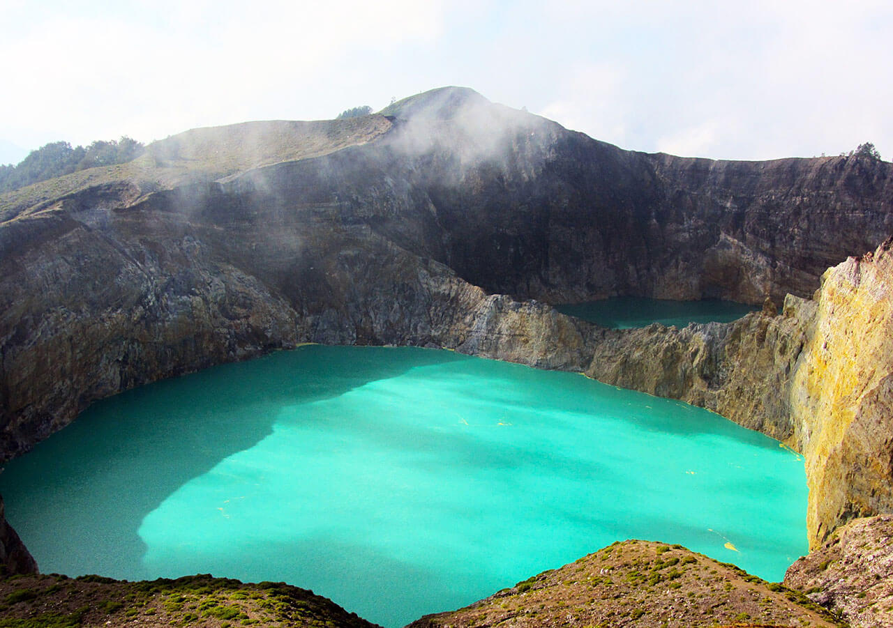 Jezioro Kelimutu, Indonezja