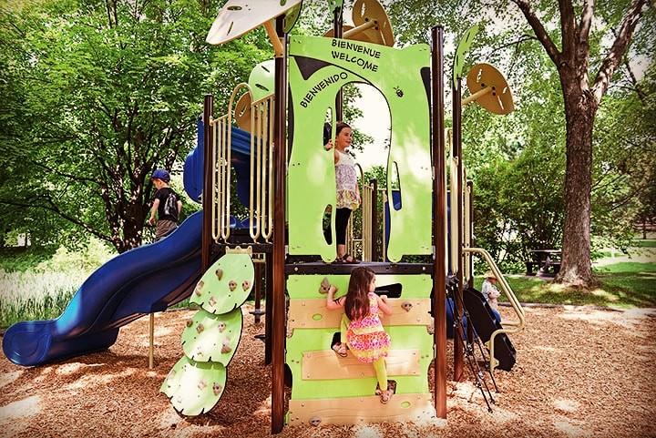 how to encourage your child to exercise Playground Canada