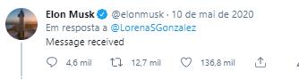 Elon musk resposta