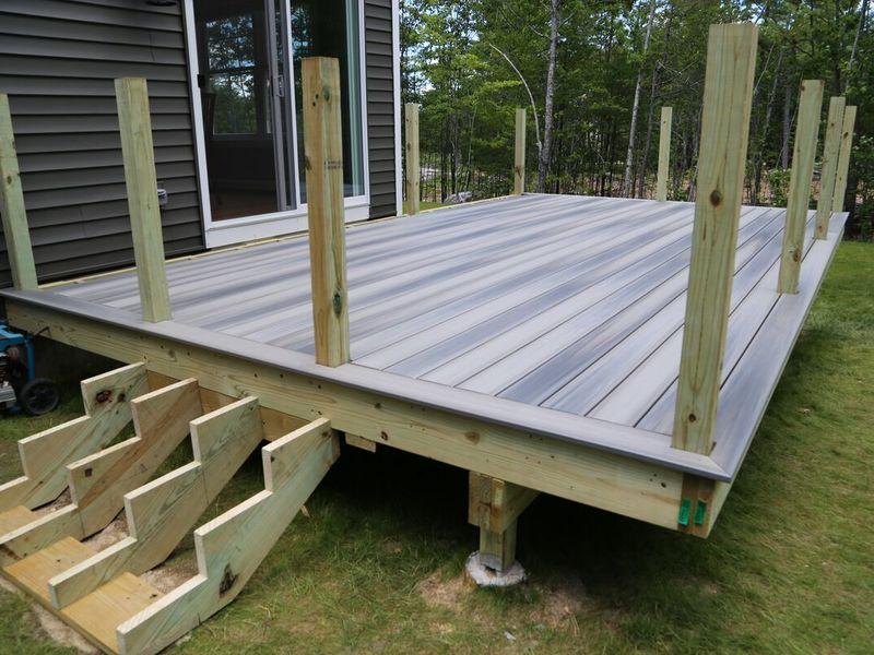 deep decking foundation