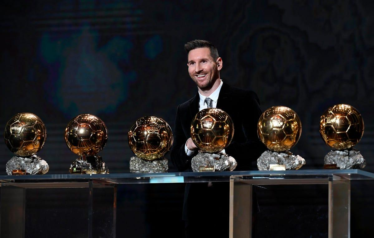 Lionel Messi with all 6 of his Ballon d'or Awards proves than attackers are more favored for individual awards in football.