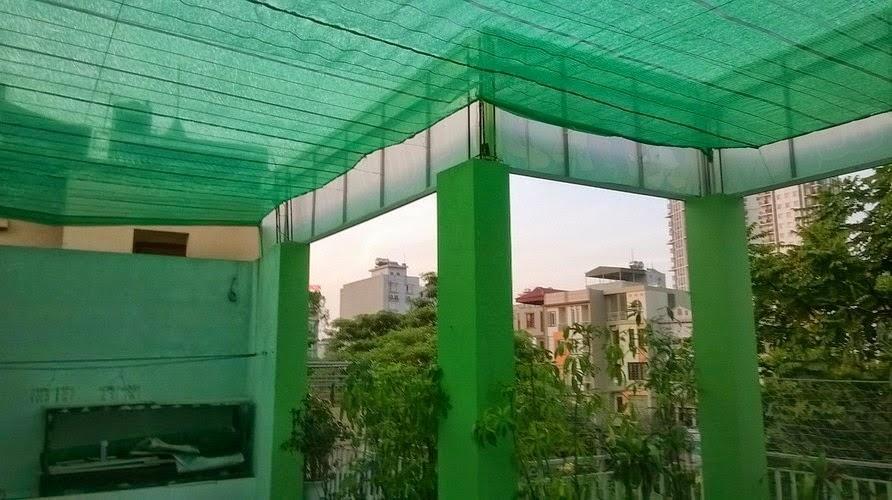 Kết quả hình ảnh cho lưới che nắng sân thượng
