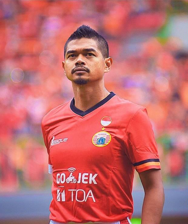 Bambang Pamungkas(Bepe20) representing Persija Jakarta