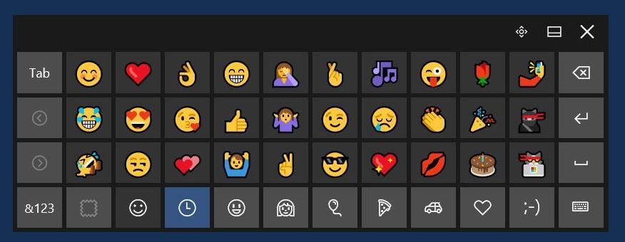 emojis windows
