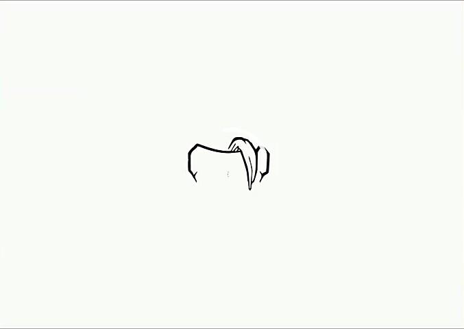 como desenhar cabelo de anime