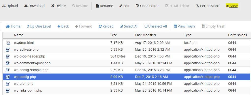 error estabilished database