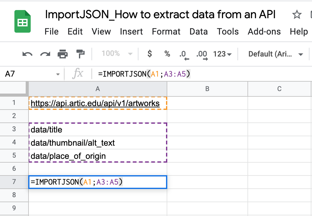 Use filters to retrieve the data you want