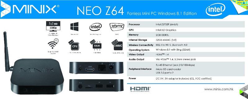 minix neo z64
