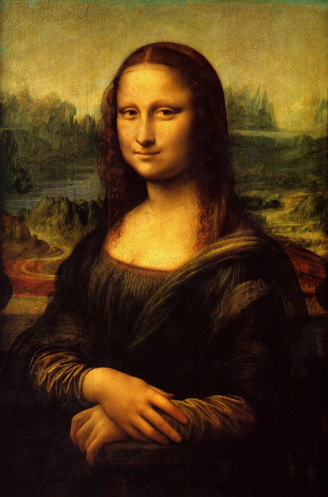 Image result for 'Mona Lisa' by Leonardo da Vinci