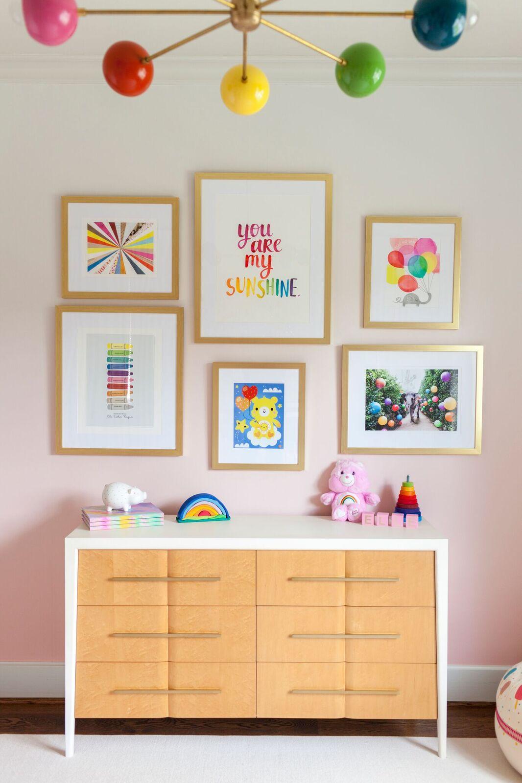 Gallery Wall Nursery, Laura U Interior Design