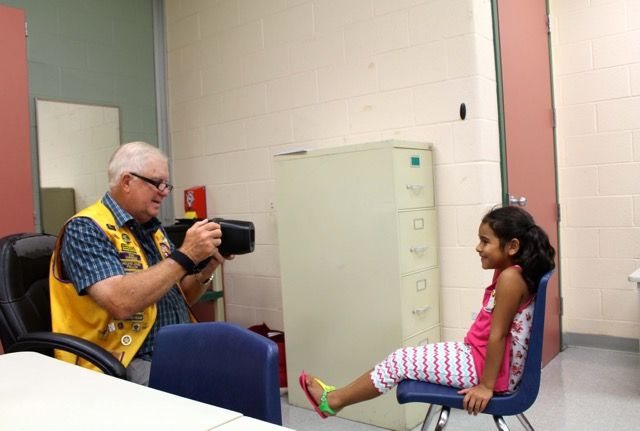 Image result for lions club vision screening