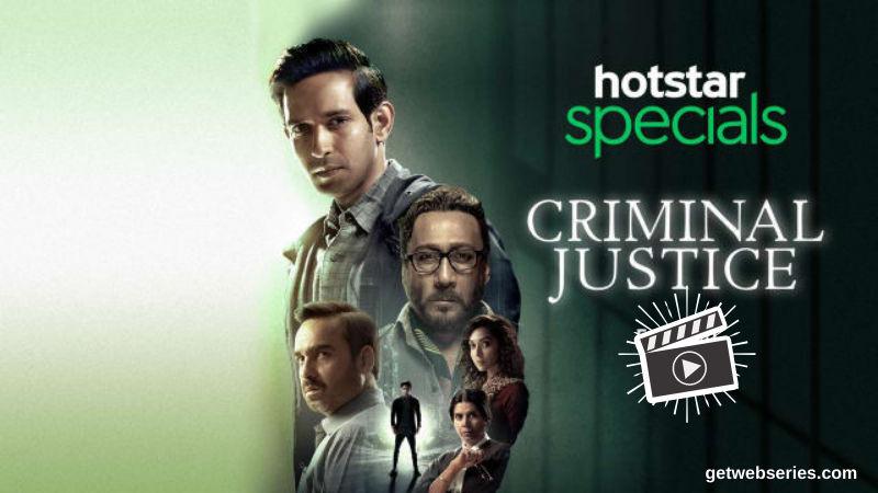 Criminal Justice Best Web Series on Hotstar