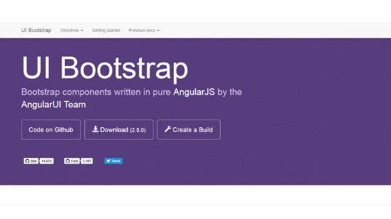 Angular UI Framework:UI Bootstrap