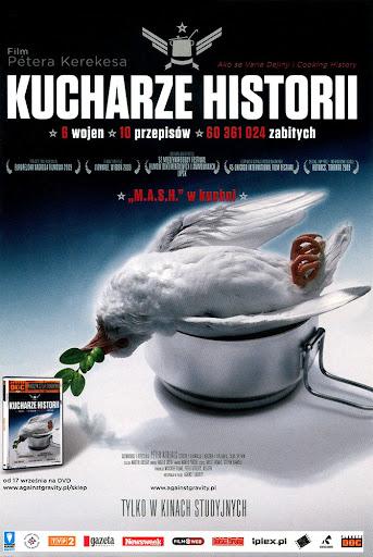 Przód ulotki filmu 'Kucharze Historii'