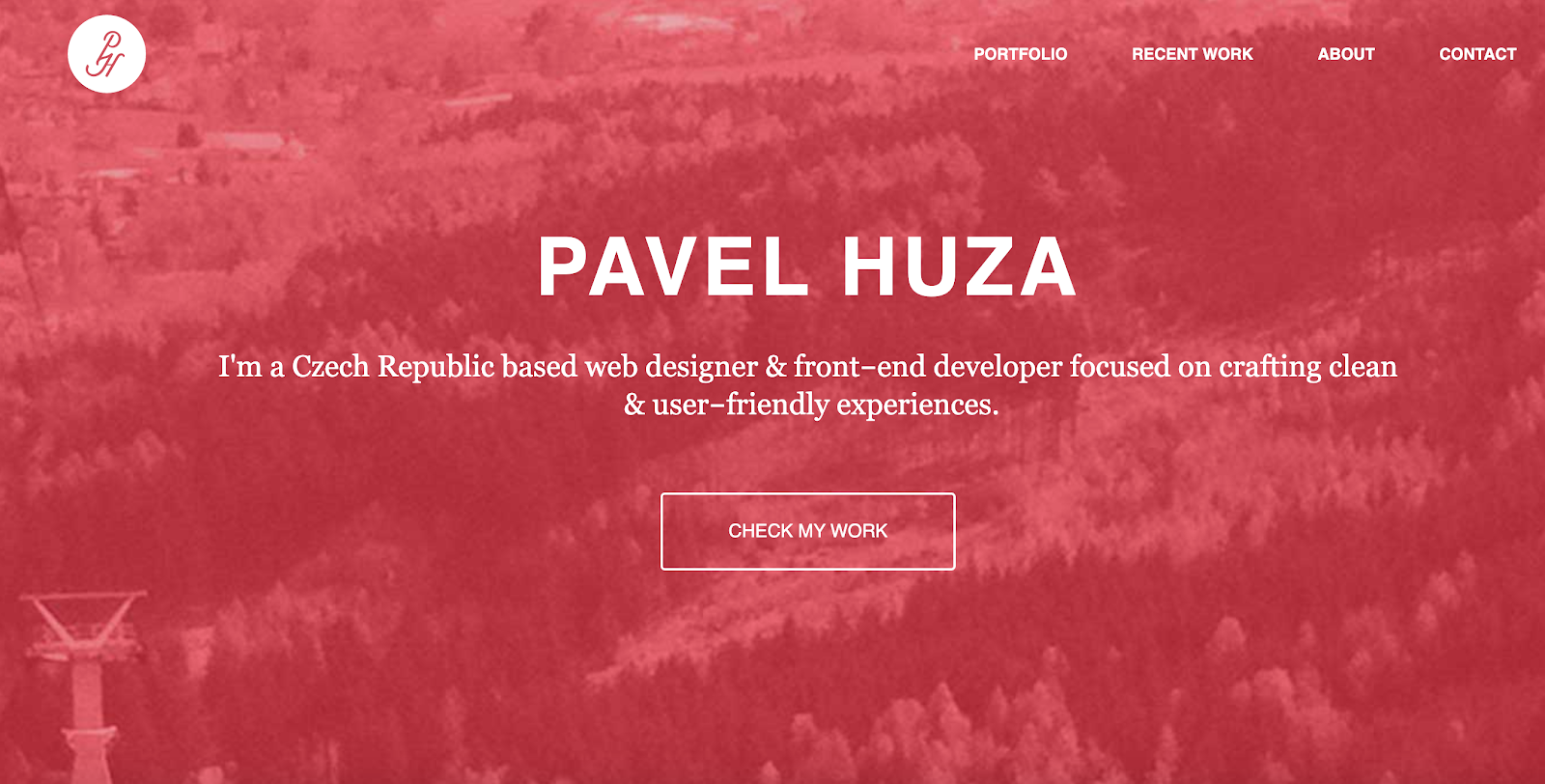 Web Developer Portfolio of Pavel Huza