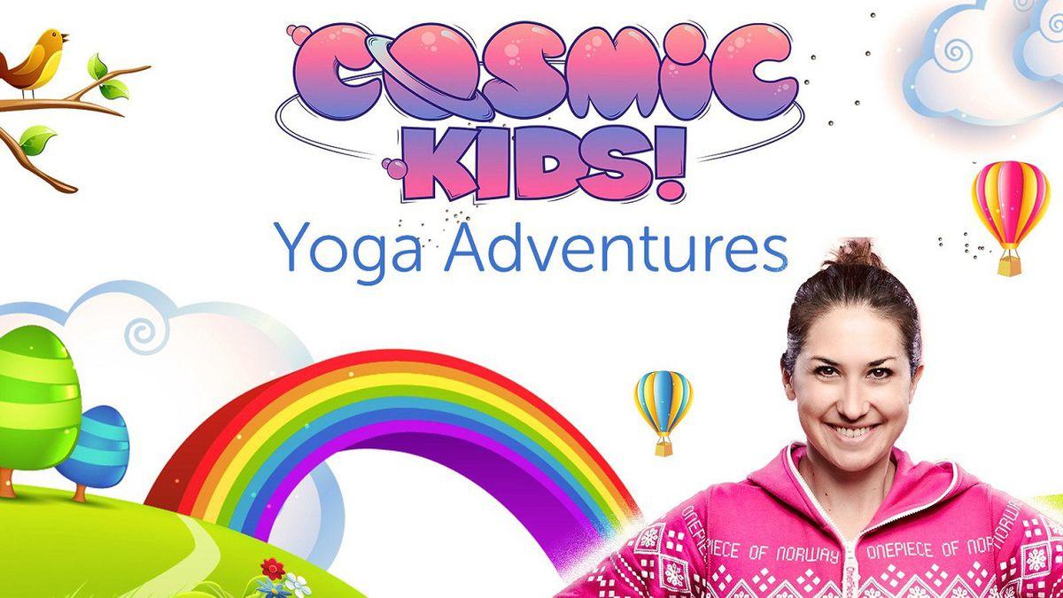 Image result for cosmic kids yoga