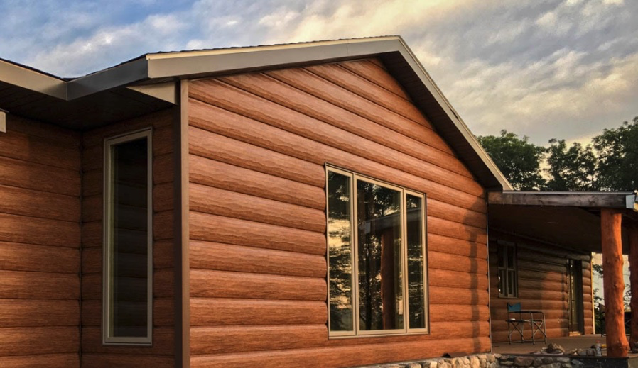 What Is Steel Log Siding
