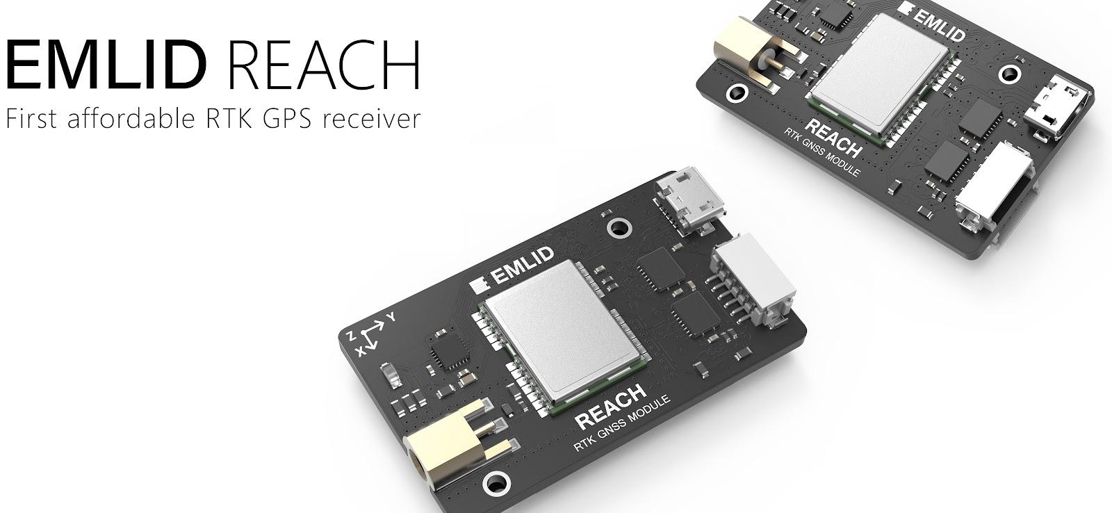 Reach RTK Pixhawk integration released! - DIY Drones