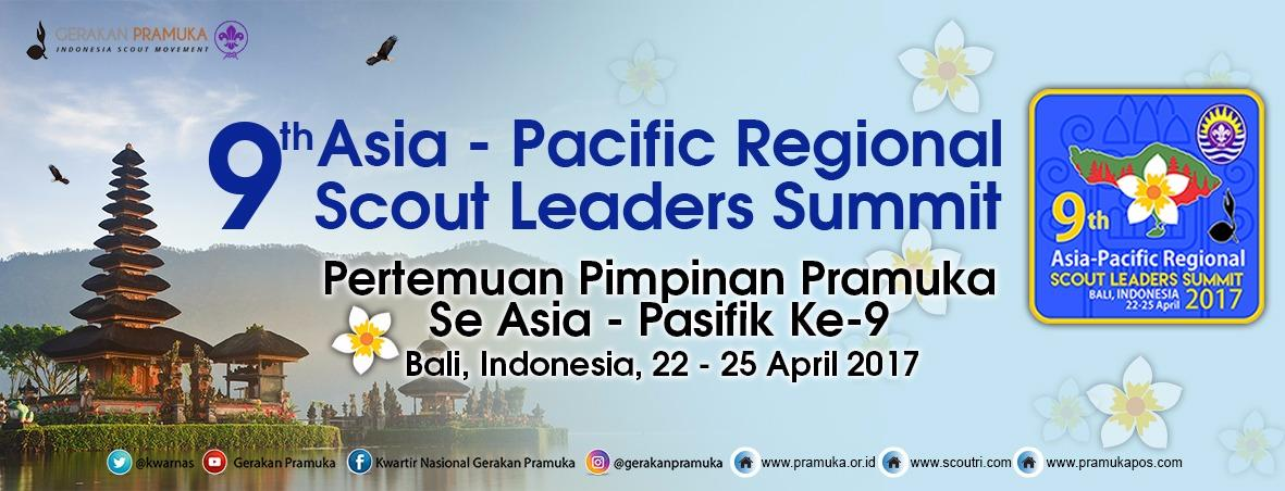 UNE-TL Leader Participating APR Scout Leader Summit 2017 in Bali