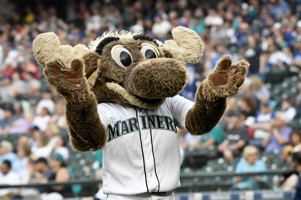 Mariner Moose là linh vật của Seattle Mariners