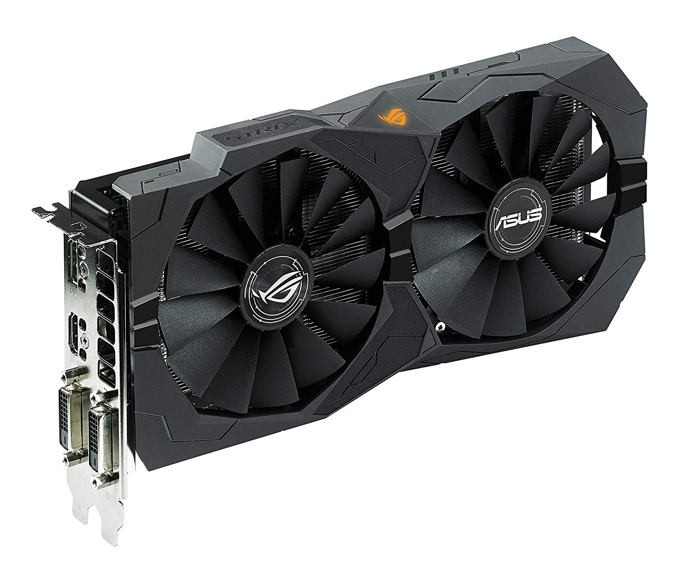 ASUS ROG Strix Radeon Rx 470 4GB OC Edition AMD Graphics Card