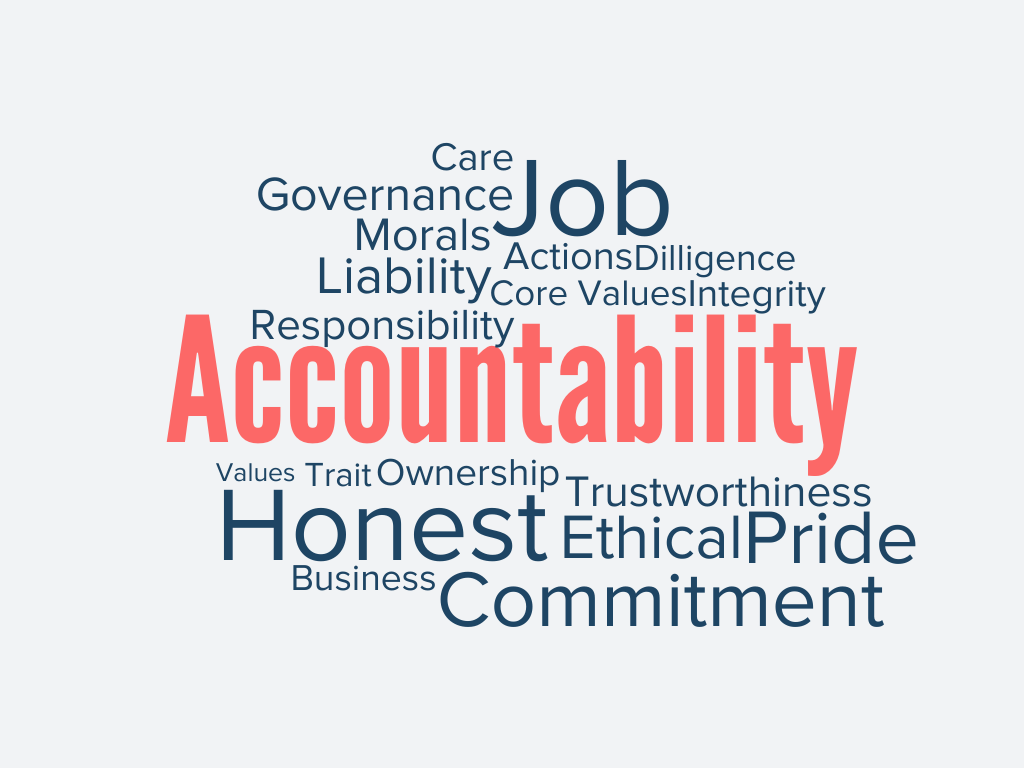 What does accountability mean exactly?