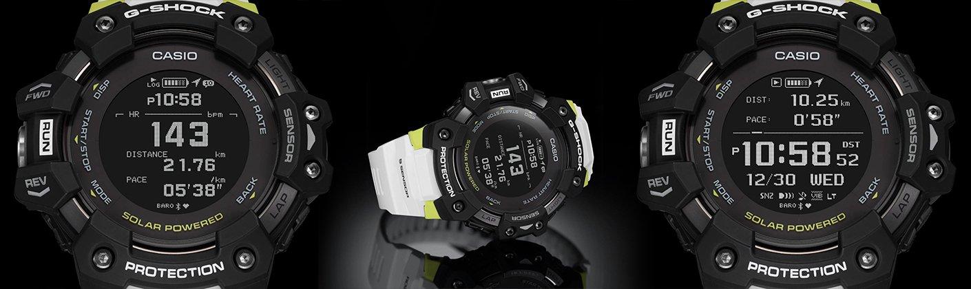Wyswietlacz MIP LCD zegarków g-squad gbd-h1000