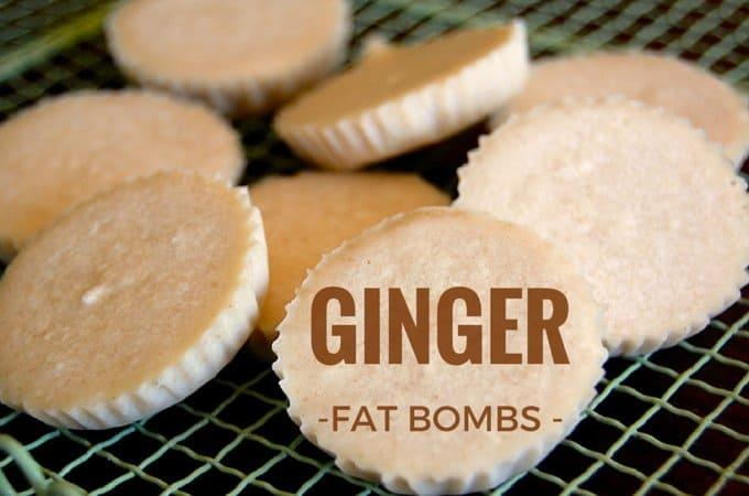 Ginger Fat Bombs are the most delicious of all the fat bombs I have tried. Full of beautiful and healthy coconut oil and delicious ginger to keep hunger at bay and those carbs away. For more low carb, grain free recipes, see ditchthecarbs.com   ditchthecarbs.com