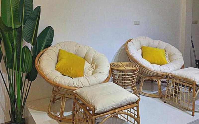 Không gian nội thất thiên nhiên giúp giảm mệt mỏi