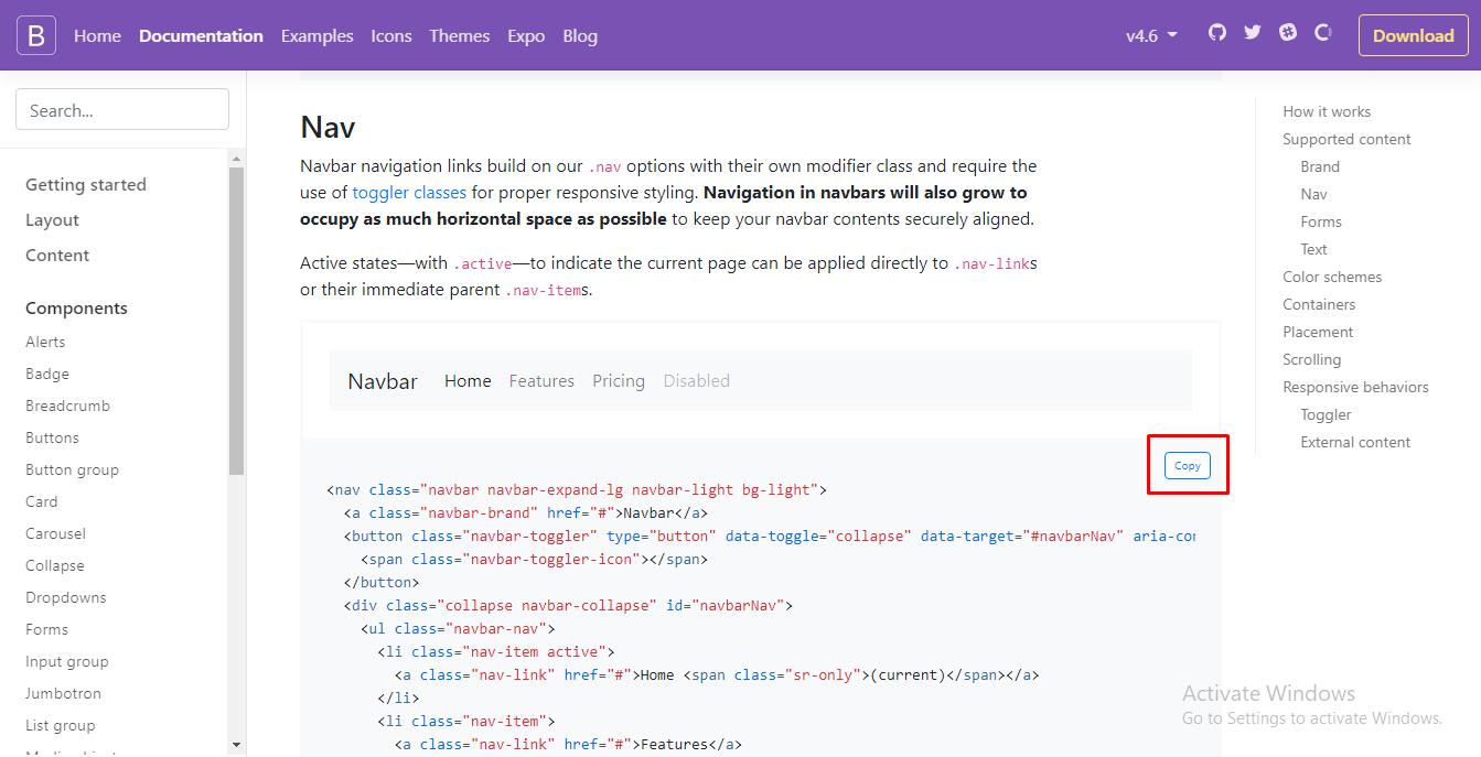 cara membuat website responsive dengan bootstrap 4 tanpa template
