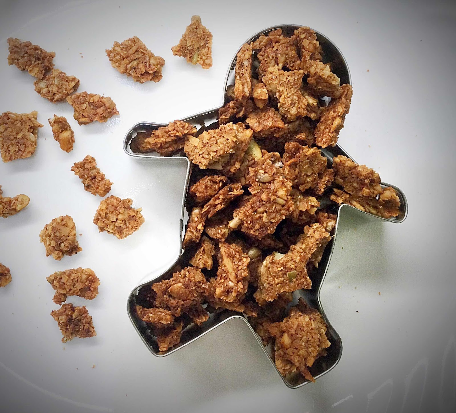 Low Carb Gingerbread Spice Granola