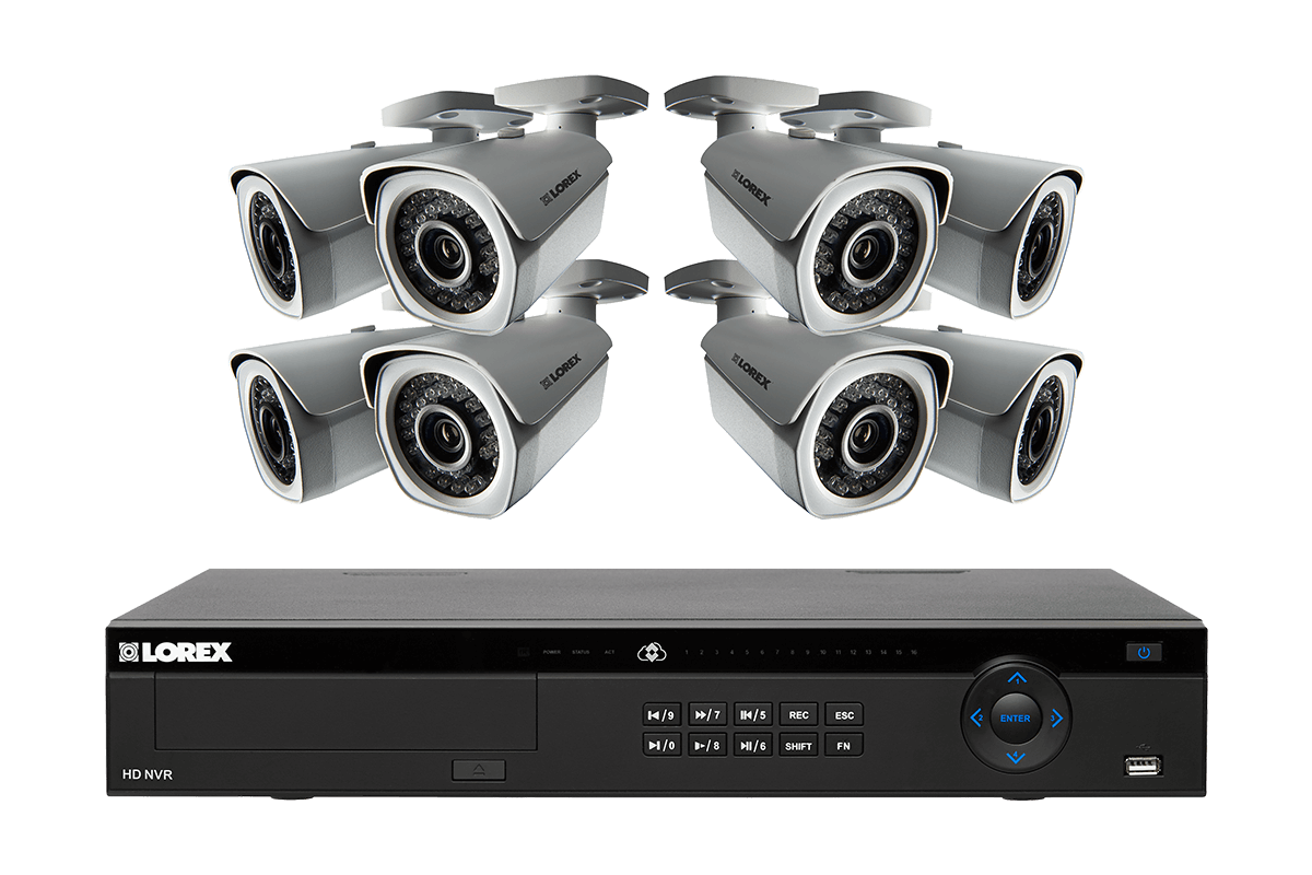 1080p Security Camera System with 16 Channel NVR