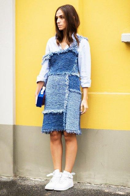 15 Amazing Outfits With Patchwork Dresses - Styleoholic