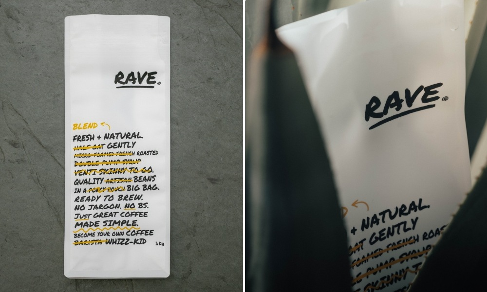 rave recyclable coffee bags