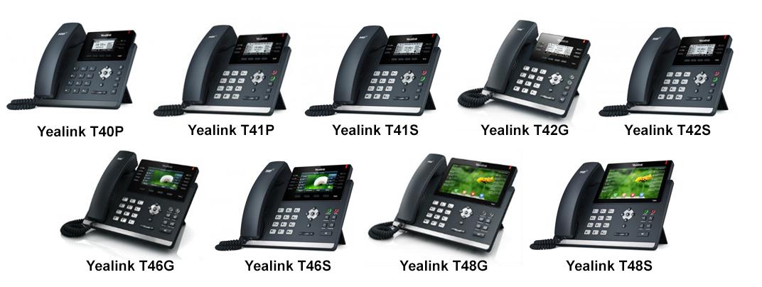Настройка Yealink T4 Series для работы с 3CX
