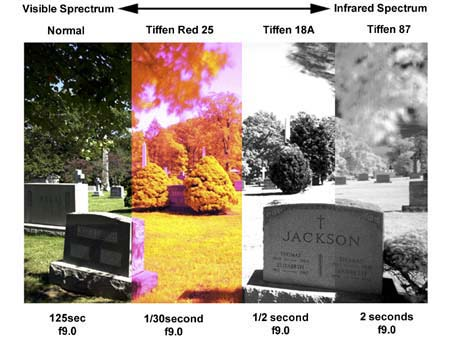 Infrared Techniques with Digital Cameras