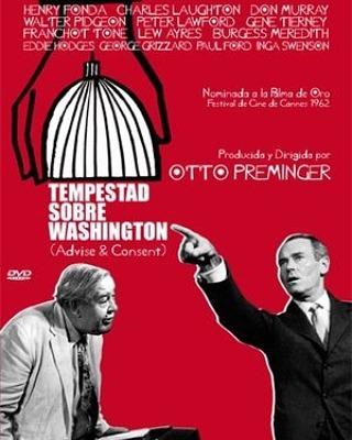 Tempestad sobre Washington (1962, Otto Preminger)