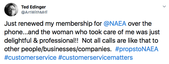 twit customer experience