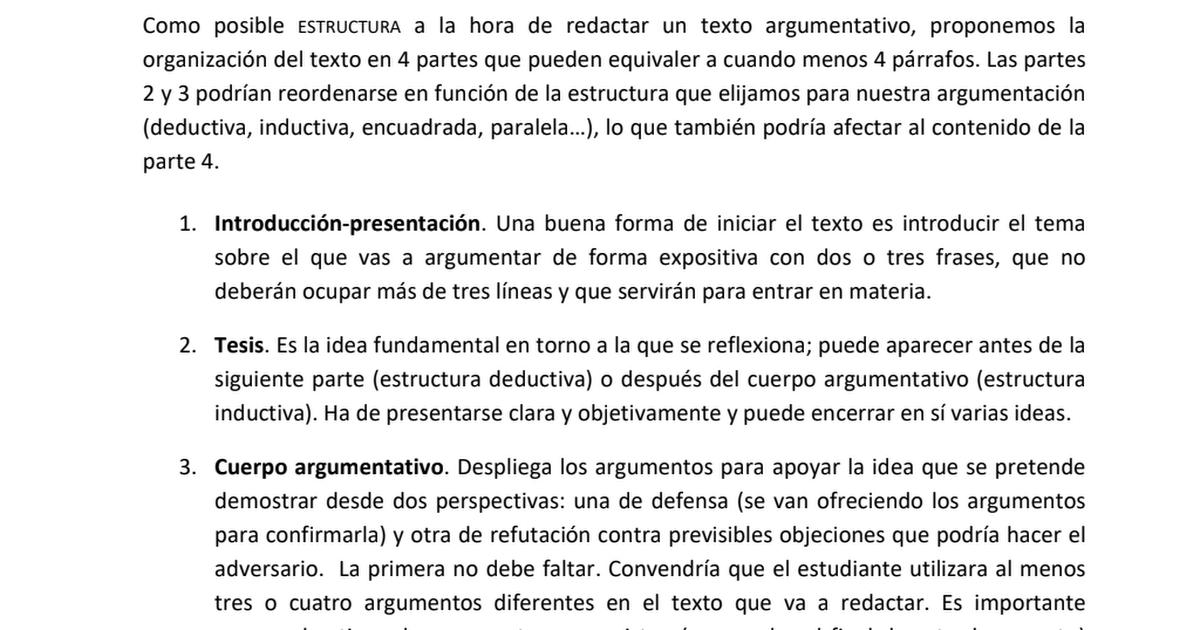 Pau Redactar Txt Argument Pdf Google Drive