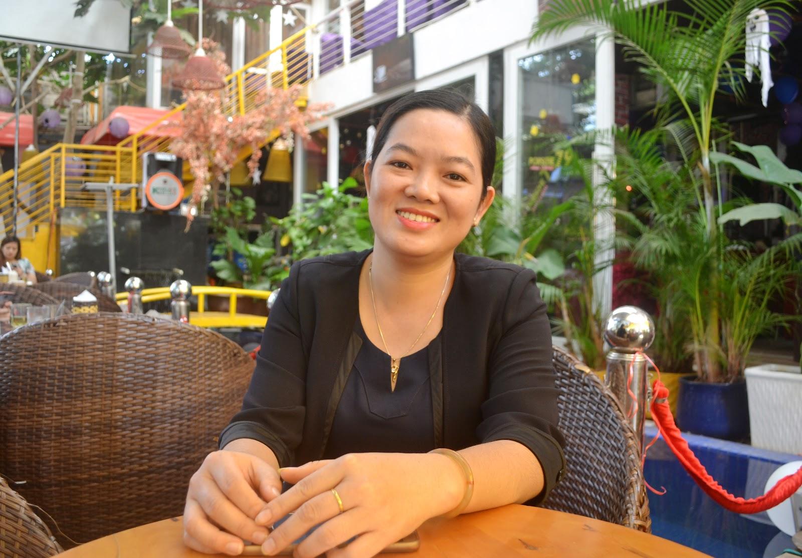 Chị Trần Thị Mỹ Anh – Kế toán Công Ty TNHH MTV Nano Hoàng Phương