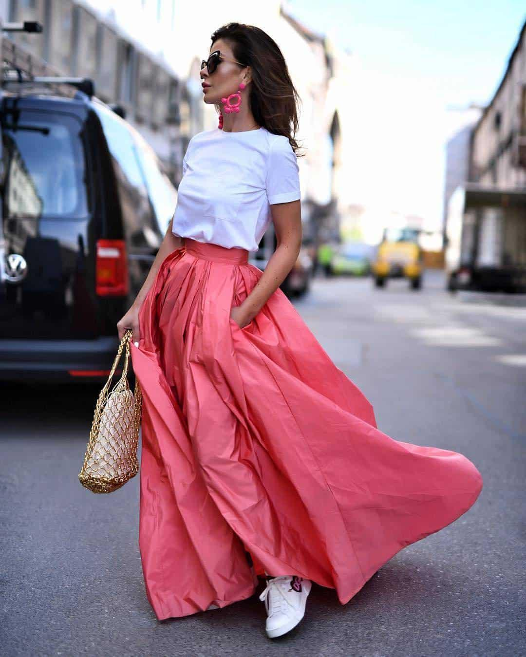 Fashion Skirts 2021: Trends and Stylish Looks for All Seasons for Skirts  2021