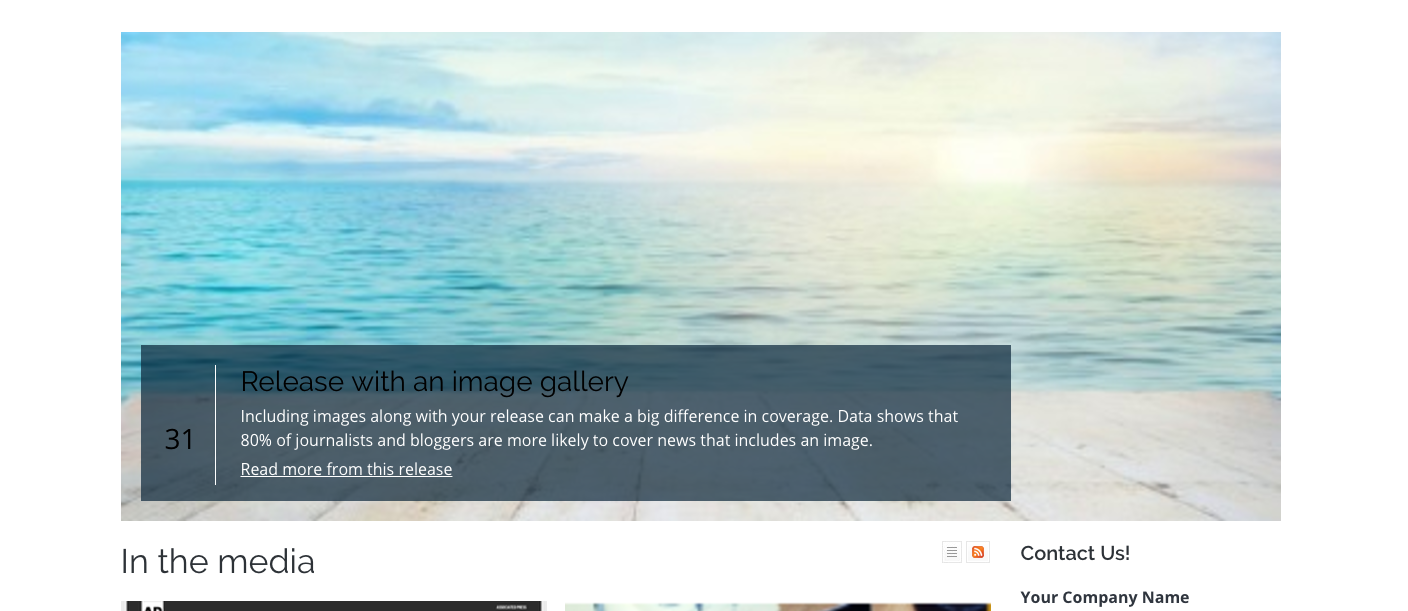 featured release full width overlay