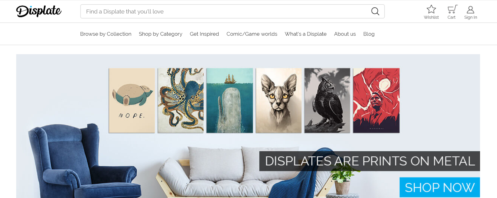 Sell Art With Displate.com