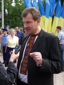 Луганских лемков открыл миру львовянин, зам луганского губернатора (2005-2008) Зиновий Гузар. Фото Юрия Кривенко
