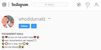 fonts in instagram bio