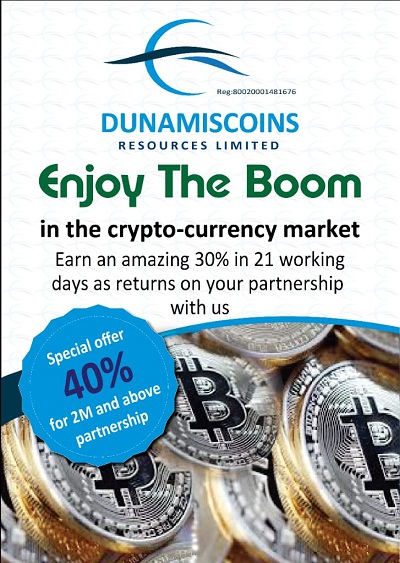 cryptocurrency, dunamiscoin, coin