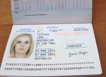Australian Passport Renewal