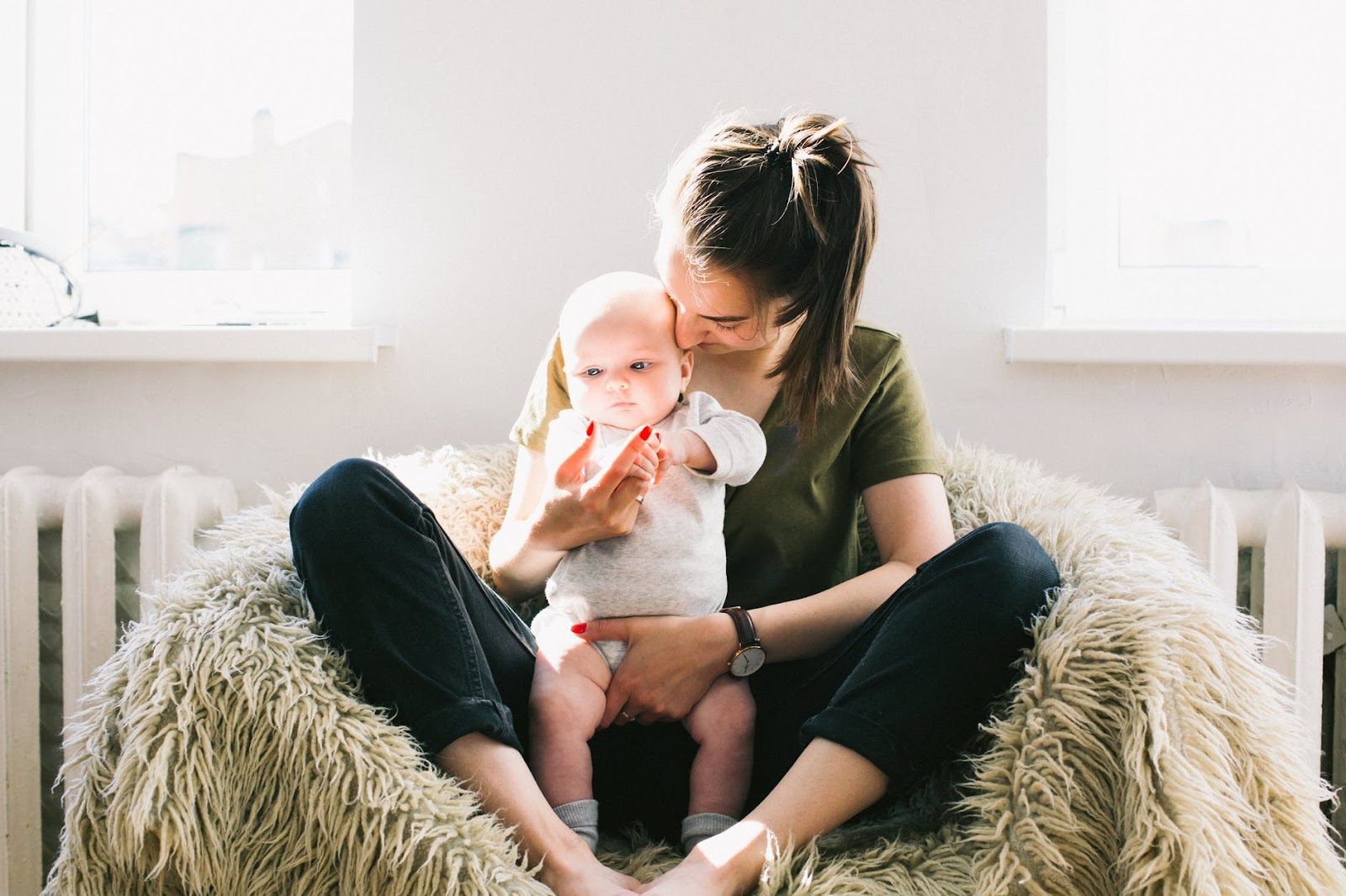 new mothers sleep-deprived
