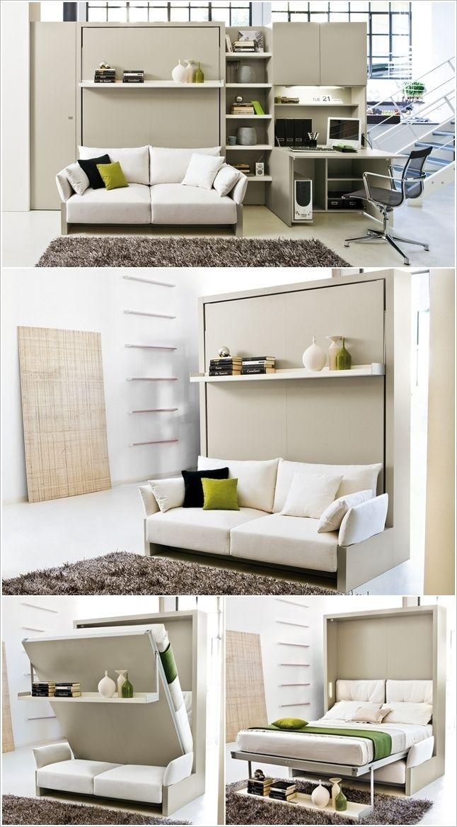 Murphy Bed For A Tiny House Or Camper, How To Make A Murphy Bed With Sofa