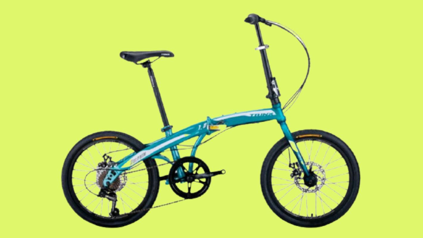9. จักรยานพับได้ 20 นิ้ว ยี่ห้อ TRINX รุ่น DOLPHIN 1.0